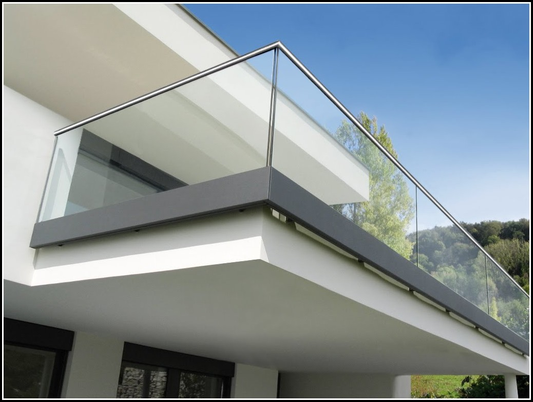 Balkon Bodenbelag Aus Glas
