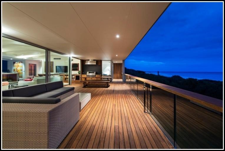 Balkon Handlauf Holz