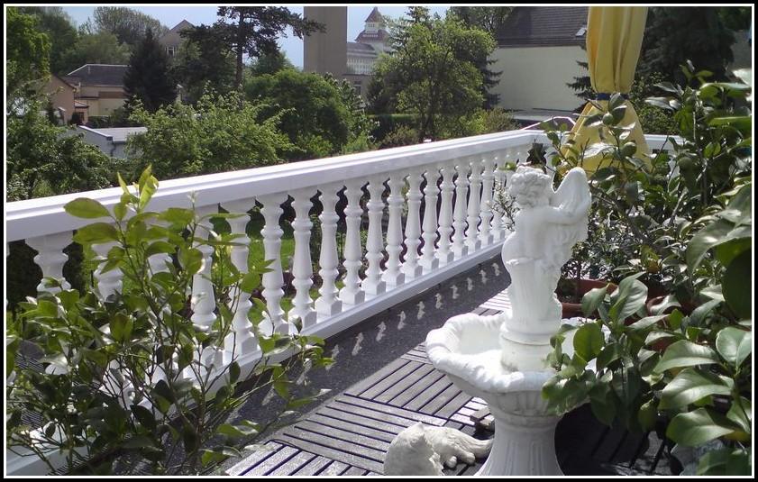 Balkon Kunststoff Fliesen