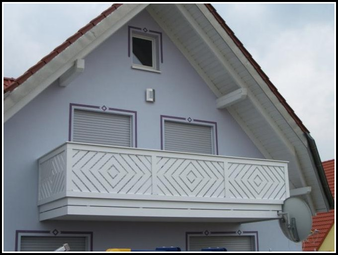 Balkon Kunststoffverkleidung