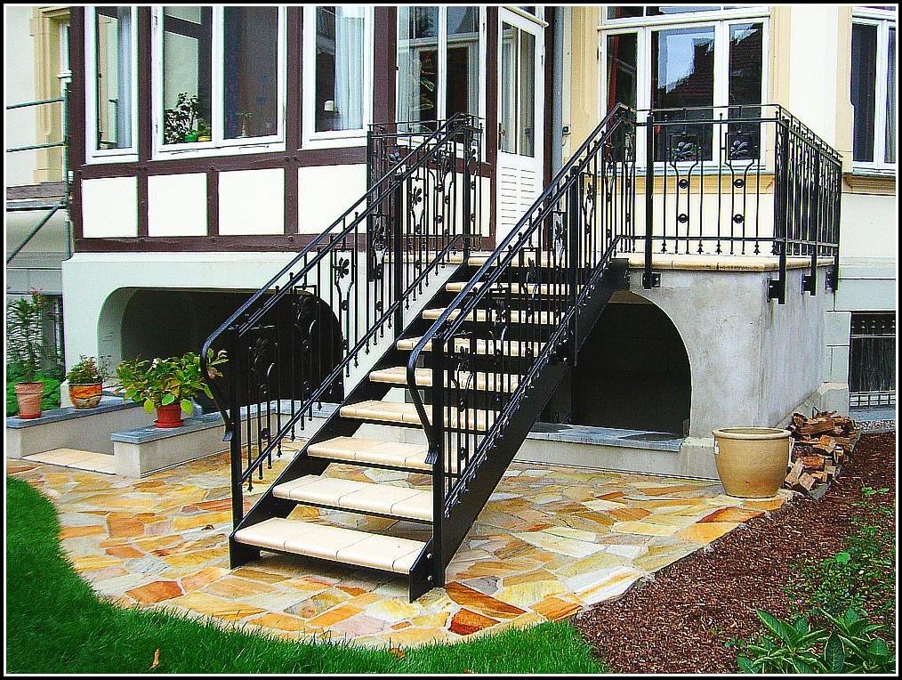 Balkon Mit Treppe Edelstahl