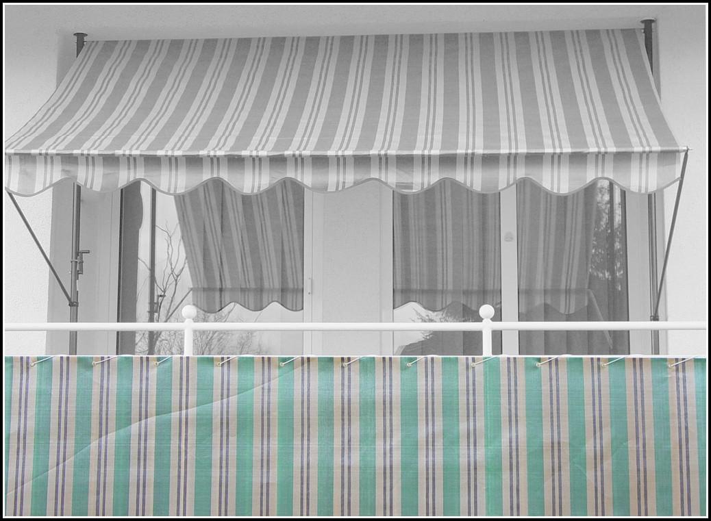 Balkon Sicht Und Windschutz Weiß