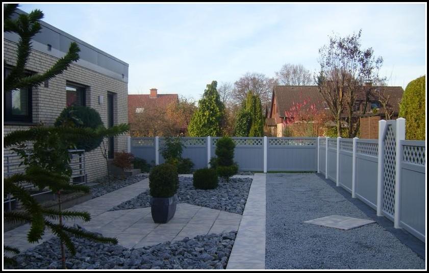 Balkon Sichtschutz 6m Grau