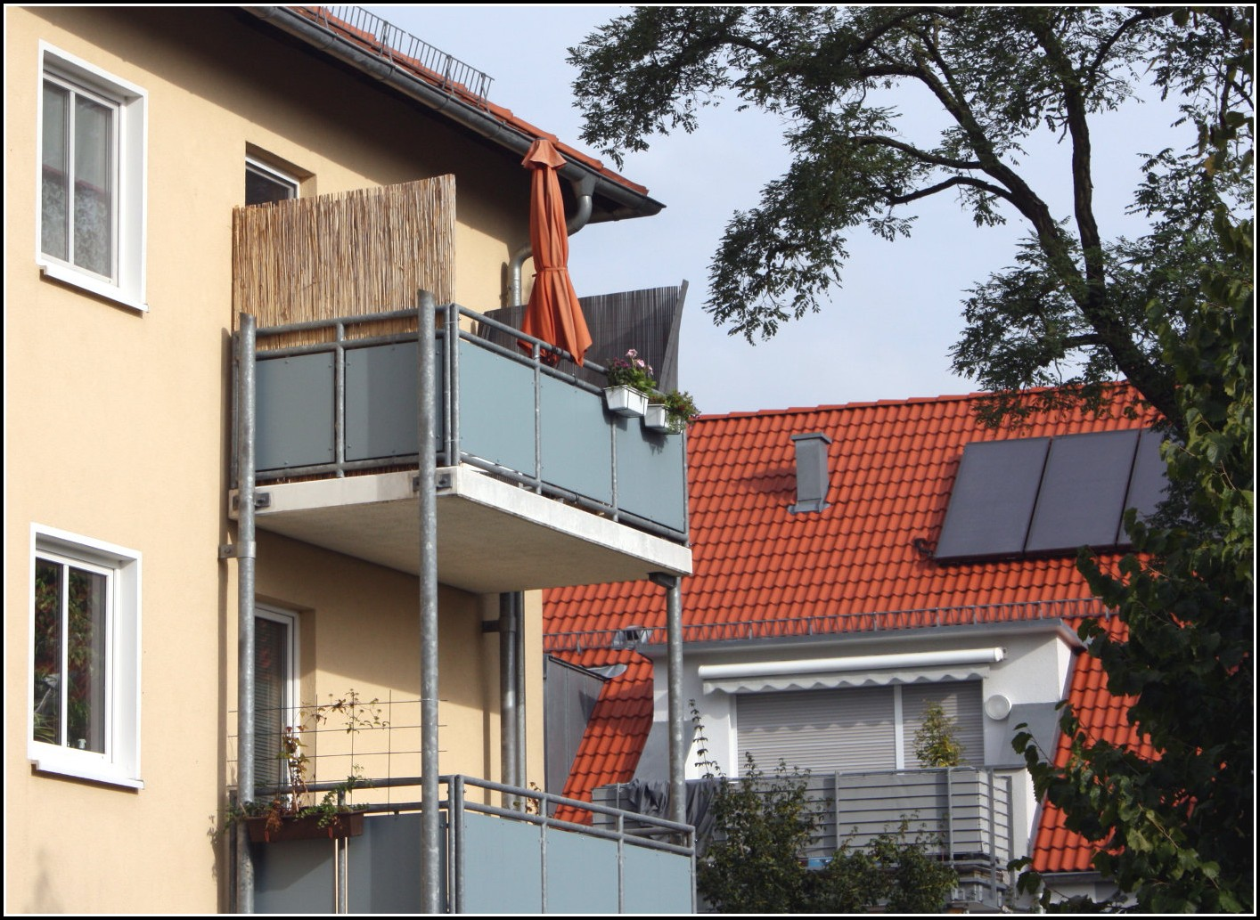 Balkon Sichtschutz Bambus Hornbach