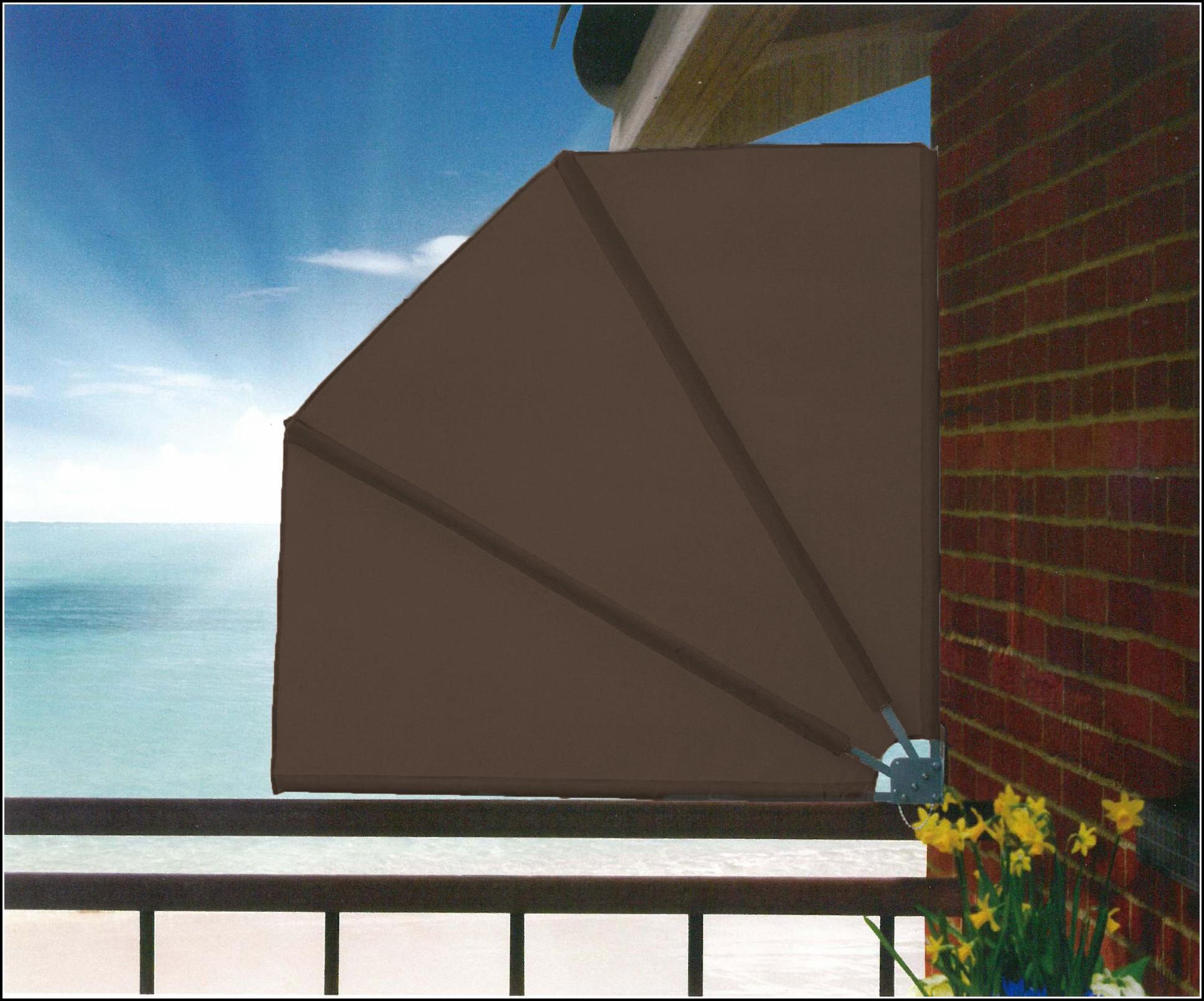 Balkon Sichtschutz Fächer 140 Cm