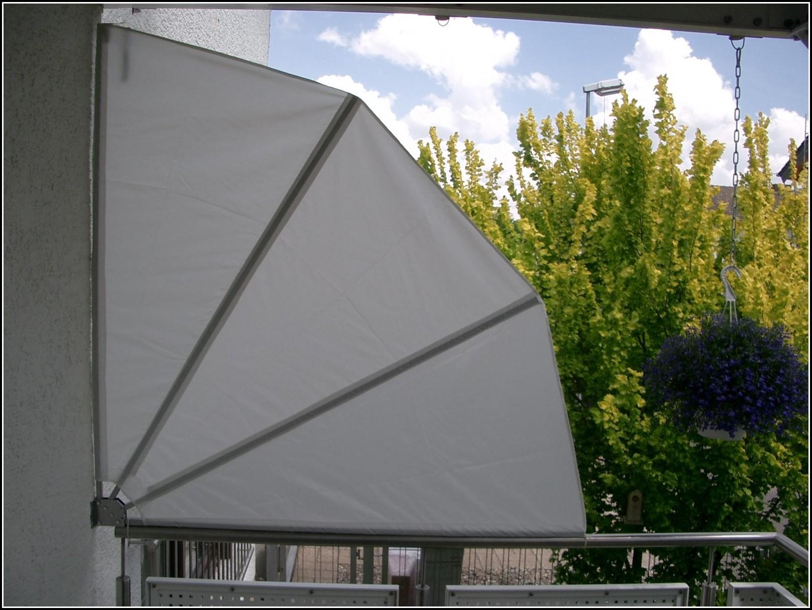 Balkon Sichtschutz Fächer Ohne Bohren