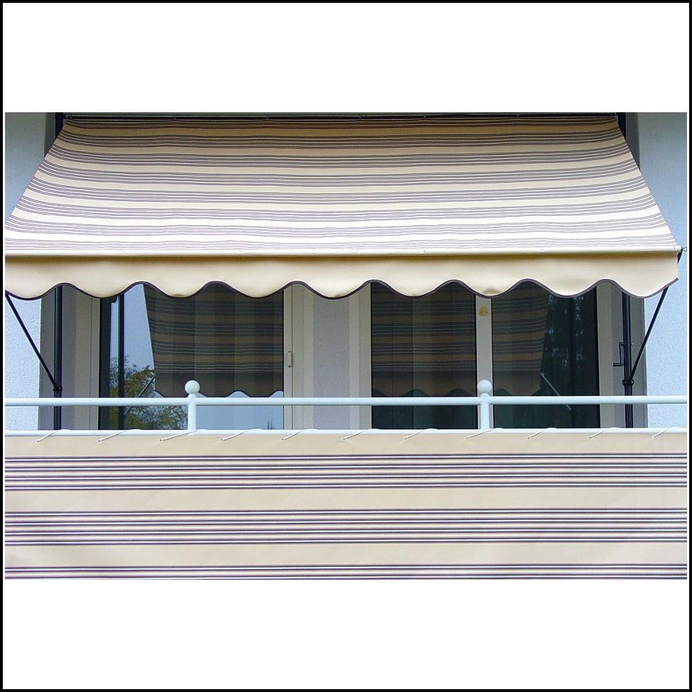 Balkon Sichtschutz Klemm Markisen