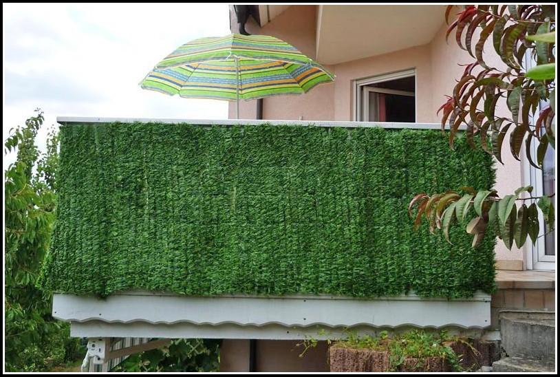 Balkon Sichtschutz Kunststoff Transparent
