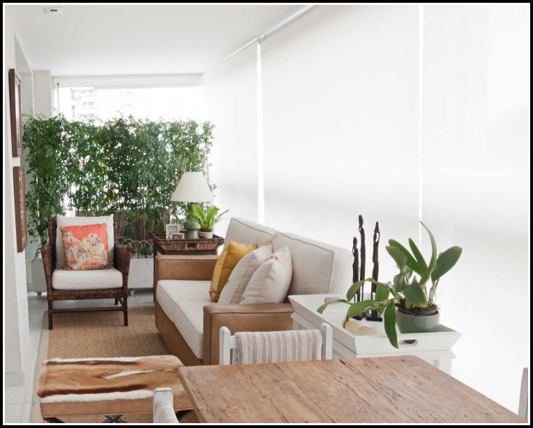 Balkon Sichtschutz Naturmaterial