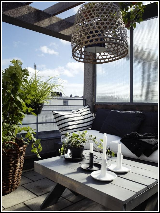 Balkon Sichtschutz Plexiglas