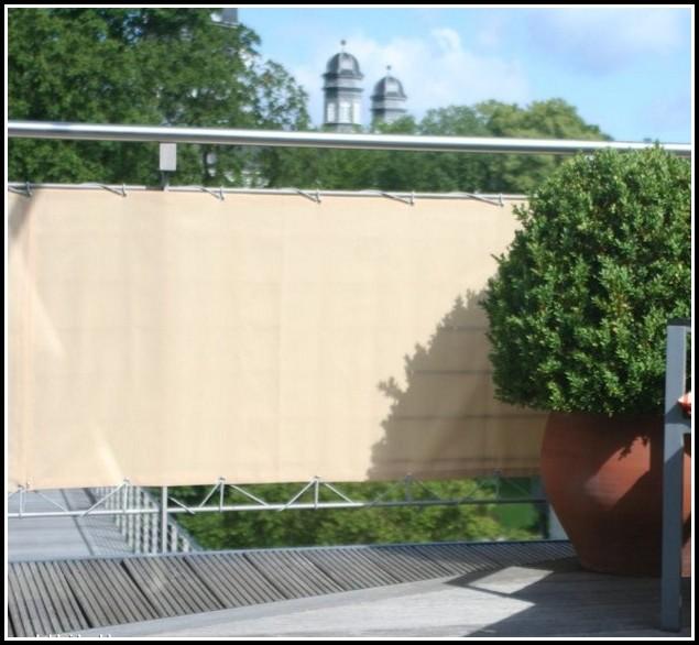 Balkon Sichtschutz Seitenwand