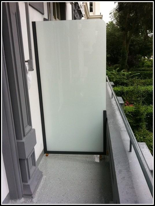 Balkon Trennwand Selber Bauen