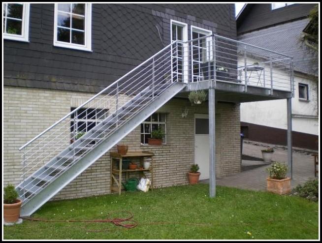 Balkon Treppe