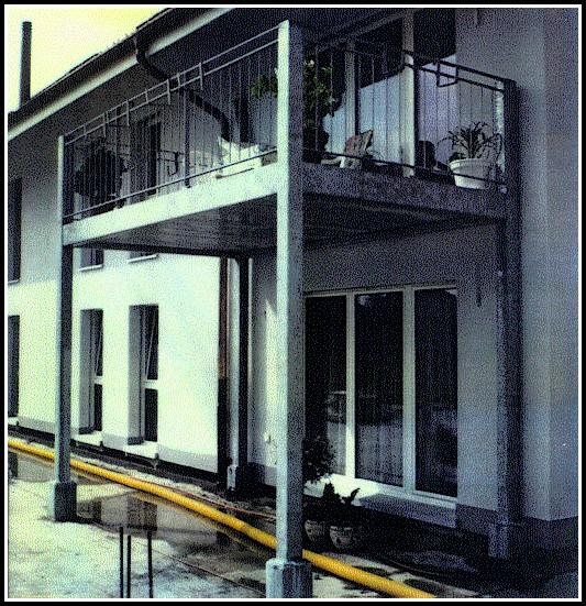 Balkon Unterkonstruktion Aus Metall