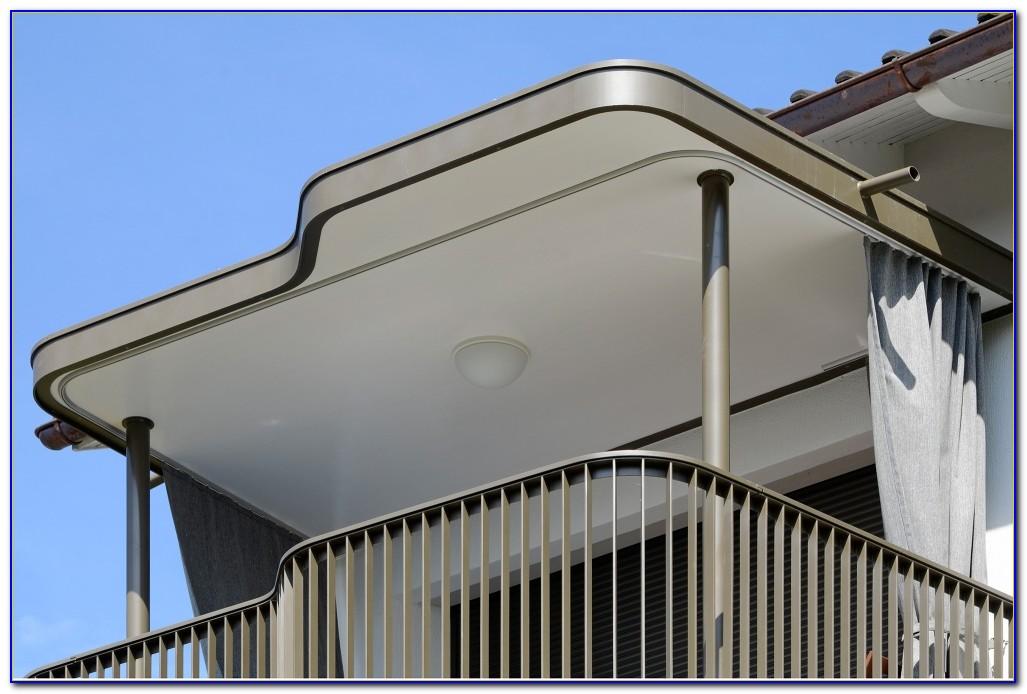Balkon Vorhang Ohne Bohren