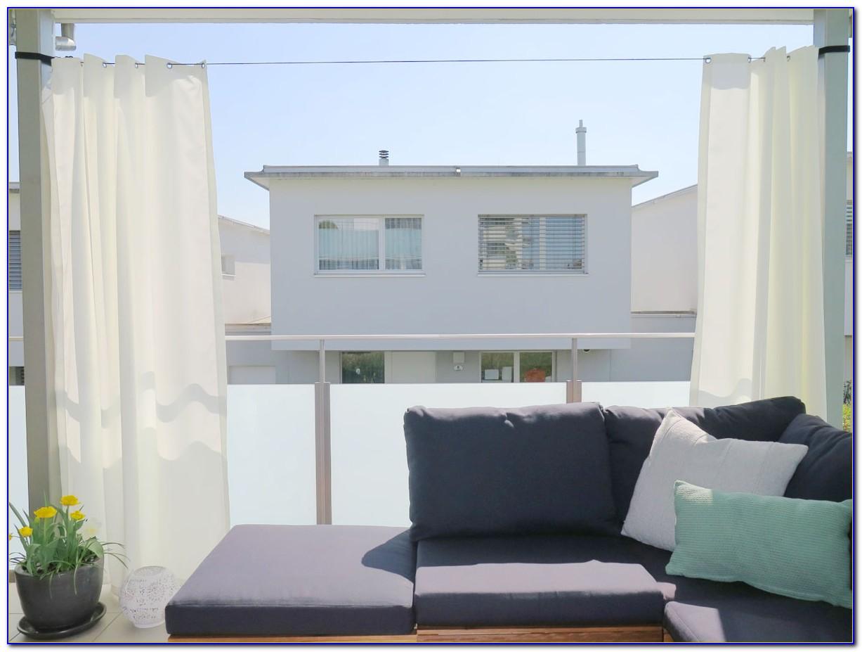 Balkon Vorhang Selber Machen