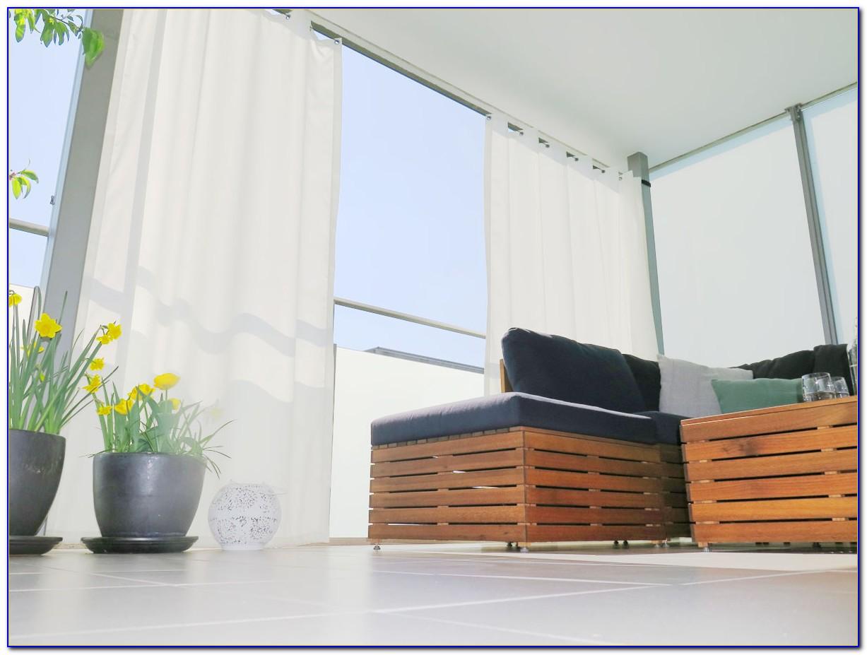 Balkon Vorhang Sonnenschutz