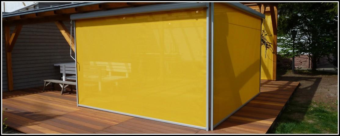 Balkon Windschutz Acrylglas