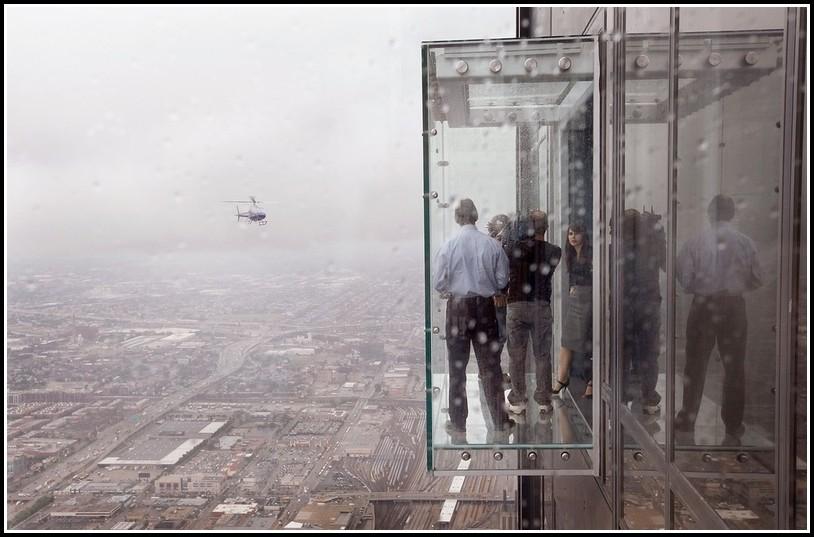 Balkon Windschutz Aus Glas