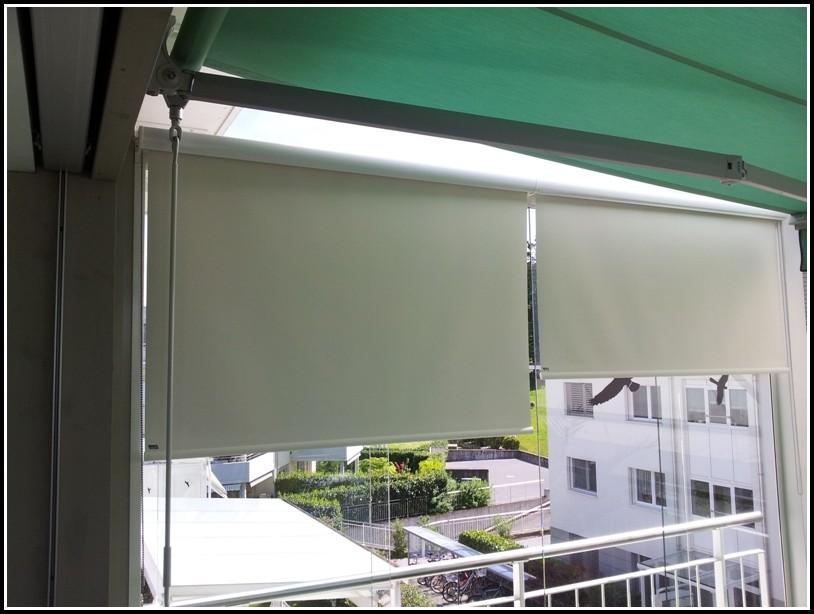 Balkon Windschutz Seitlich Plexiglas