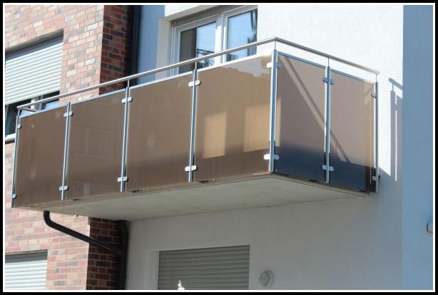 Balkone Aus Glas Und Holz