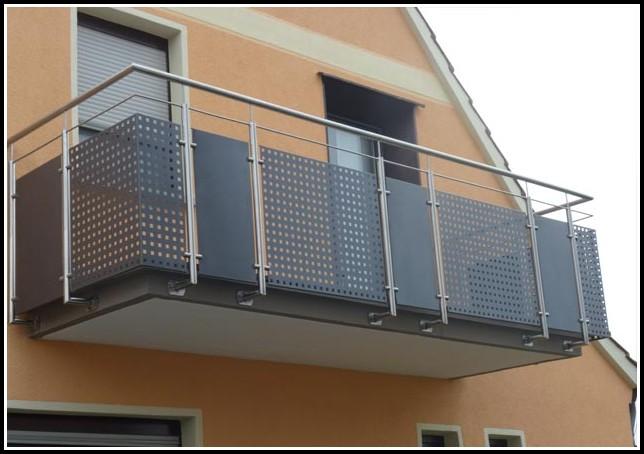 Balkone Edelstahl Bilder