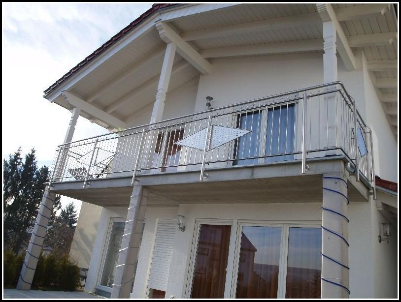 Balkone Edelstahl Lochblech