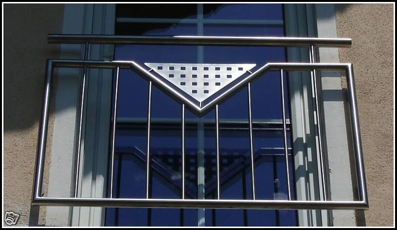 Balkongeländer Edelstahl Französischer Balkon