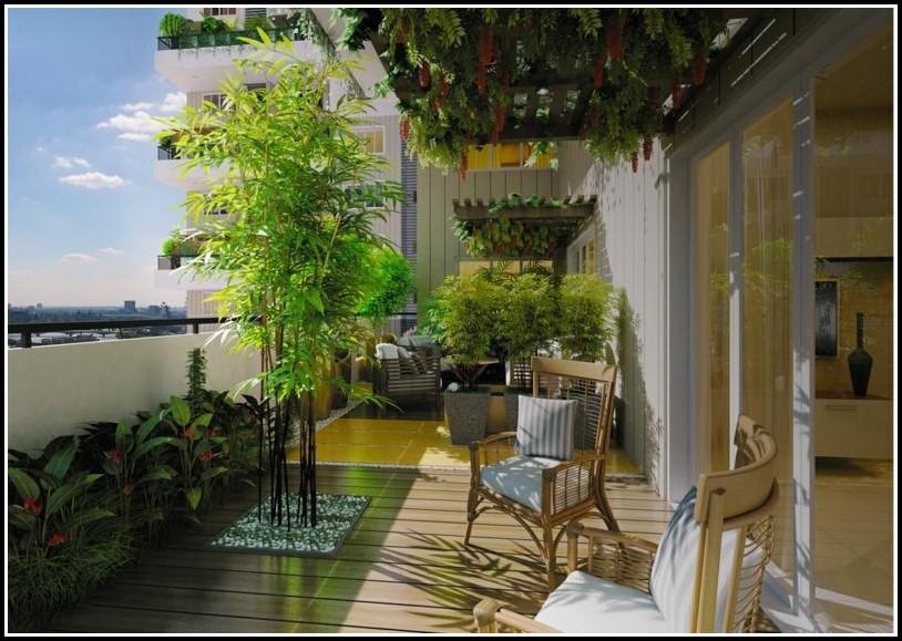 Bambus Balkon Sichtschutz Hornbach