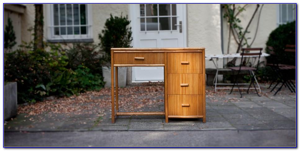 Bambus Schreibtischbutler