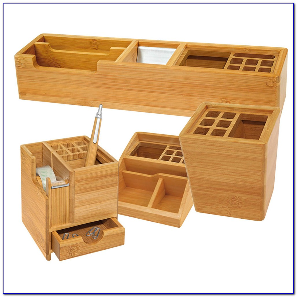 Bambus Schreibtischplatte