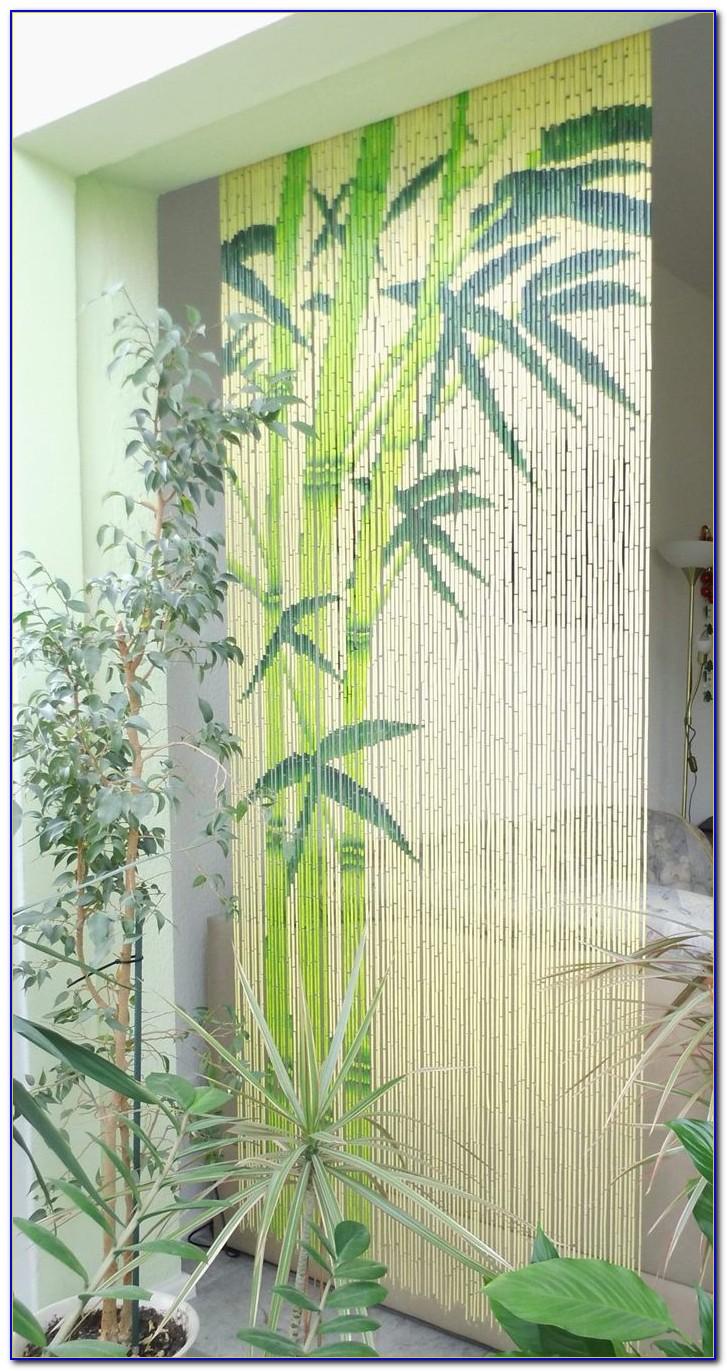 Bambus Vorhangstange