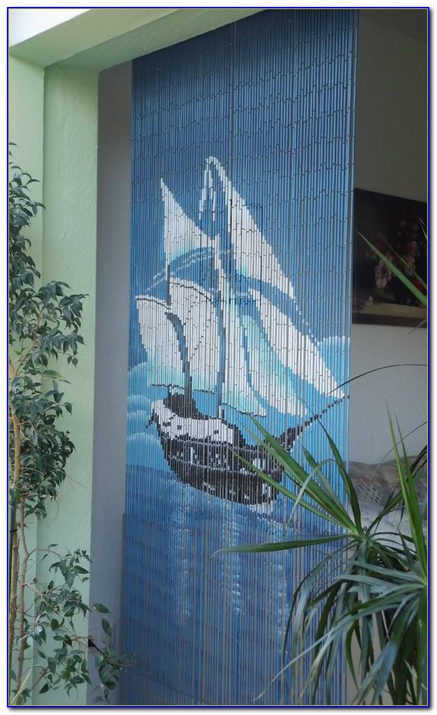 Bambusvorhang Eule