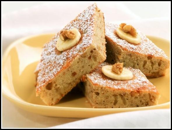 Bananen Nuss Kuchen Rezept