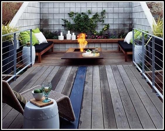 Bangkirai Terrasse Verlegen Gefälle