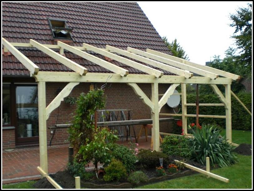 Bau Einer Erhöhten Terrasse
