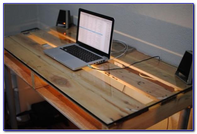Bauanleitung Schreibtisch Aus Paletten