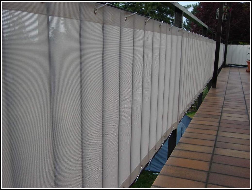 Bauhaus Balkon Sichtschutz
