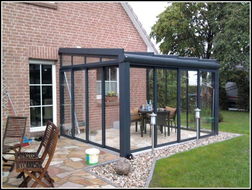 Bausatz Terrassenüberdachung Alu Glas