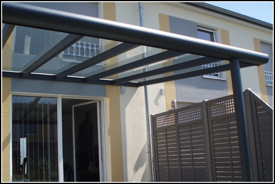 Bausatz Terrassenüberdachung Aluminium