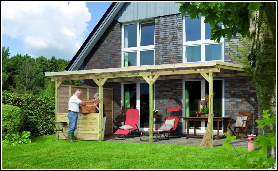 Bausatz Terrassenüberdachung Holz