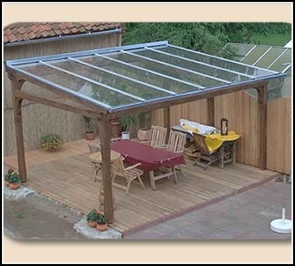 Bausatz Terrassenberdachung