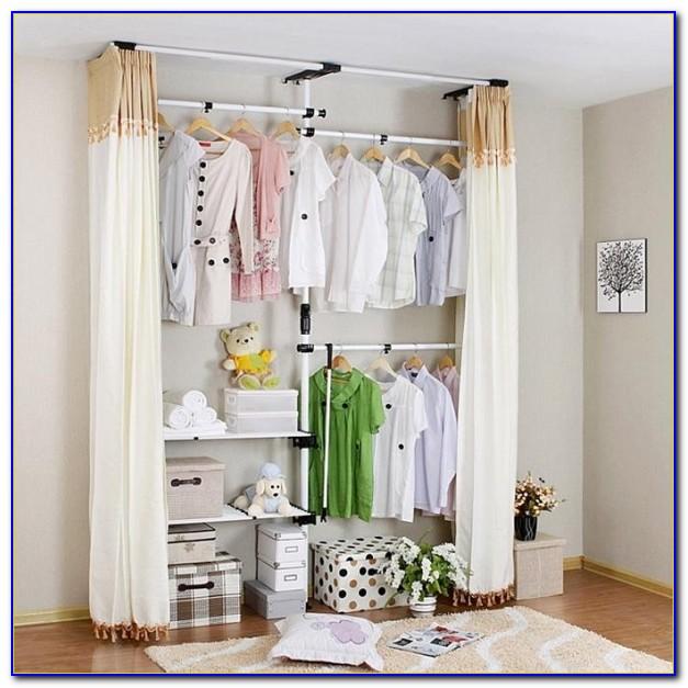 Begehbarer Kleiderschrank Vorhänge