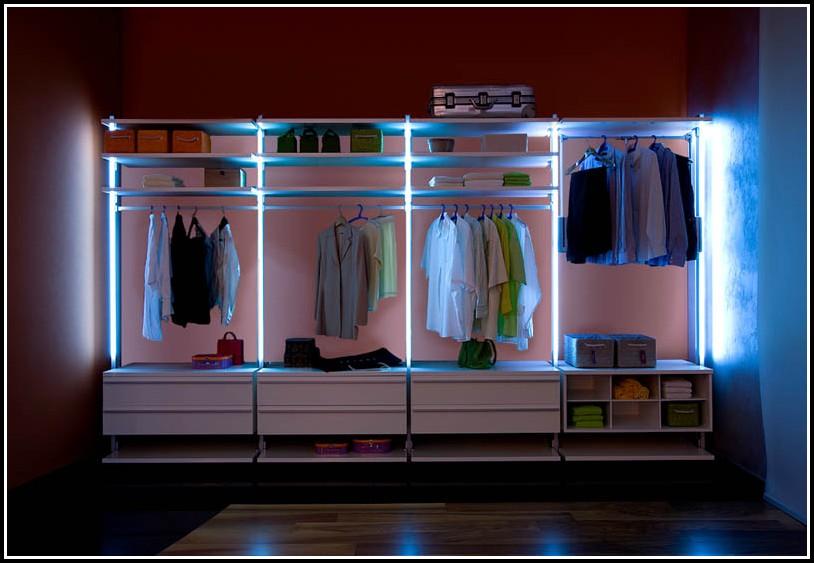 Beleuchtung Begehbarer Schrank