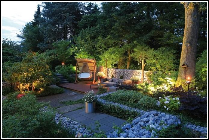 Beleuchtung Im Garten Installieren