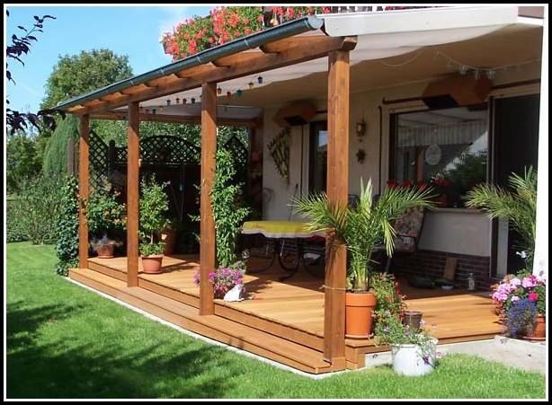 Berdachung Terrasse Holz