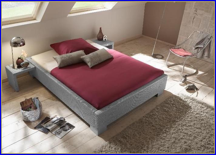 Bett 120×200 Cm Weiß