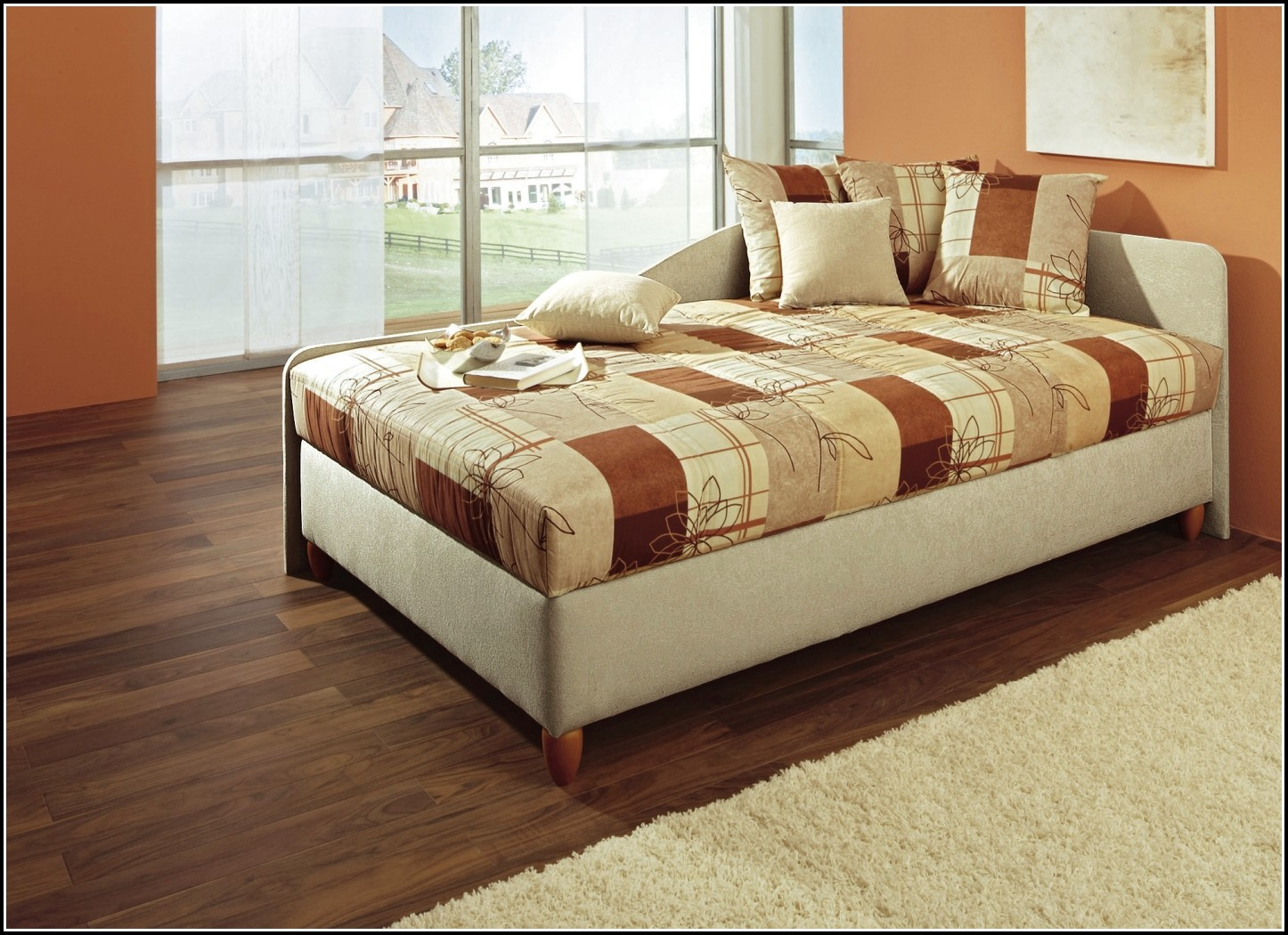 Bett 120×200 Weiß Mit Bettkasten