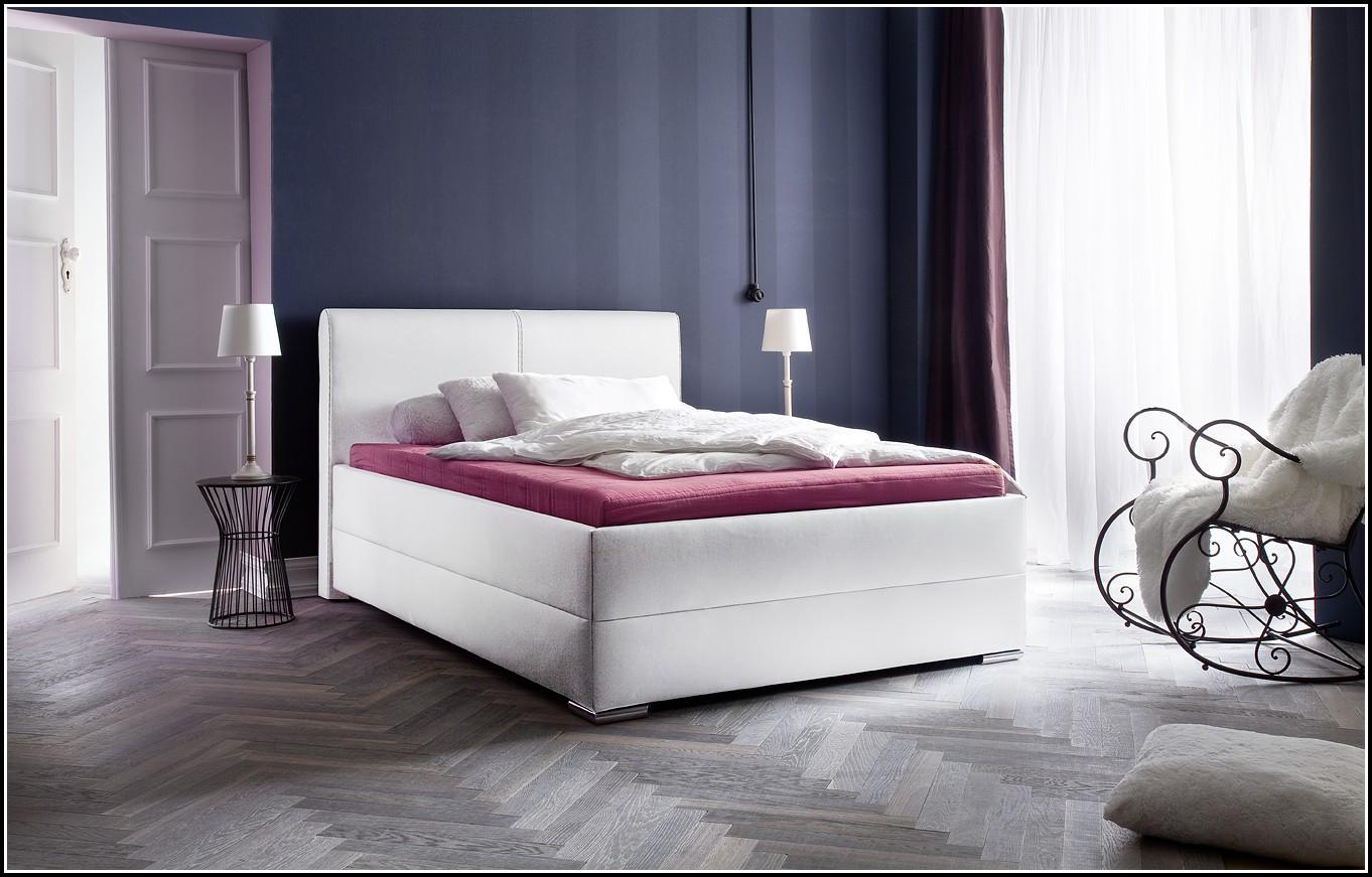 Bett 140 200 Weiß
