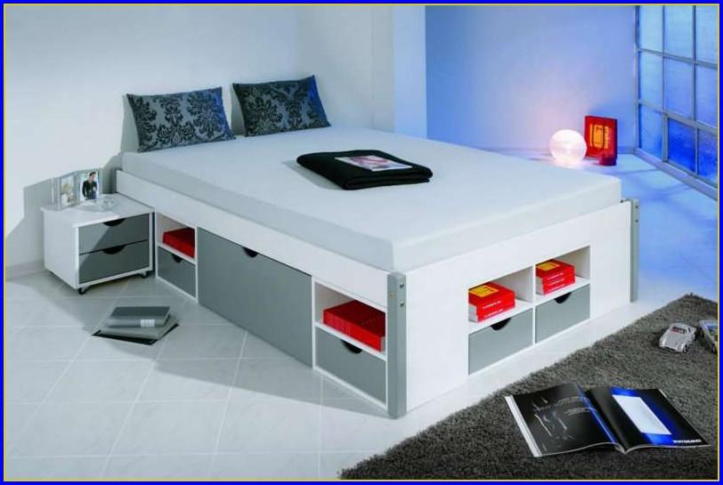 Bett 140 Cm Breit Weiß